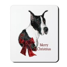 Great Dane Christmas Mousepad