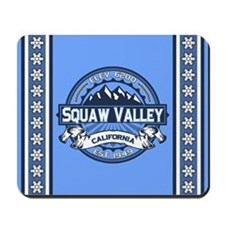 Squaw Valley Blue Mousepad