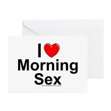 Morning Sex (10 pk) Greeting Cards