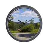 Catskill Mountain Wall Clock