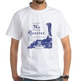 No Quarter-BG 18x23-blue NoBorder.jpg T-Shirt
