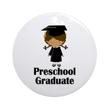 Preschool Graduate Ornament (Round)