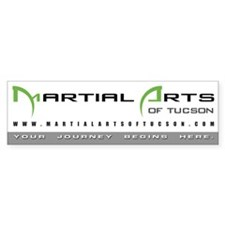 Martial Arts of Tucson : Bumper sticker