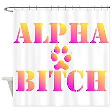 Alpha Bitch Shower Curtain