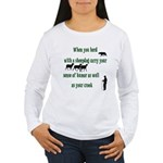 Carry Your Crook Women's Long Sleeve T-Shirt