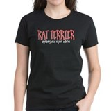 Rat Terrier JUST A DOG Tee