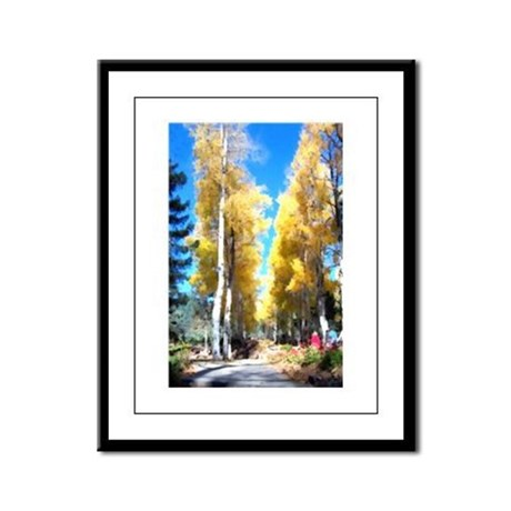 Aspen Trail Framed Panel Print