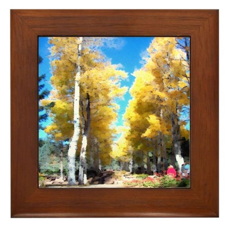 Aspen Trail Framed Tile