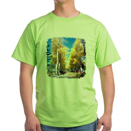 Aspen Trail Green T-Shirt