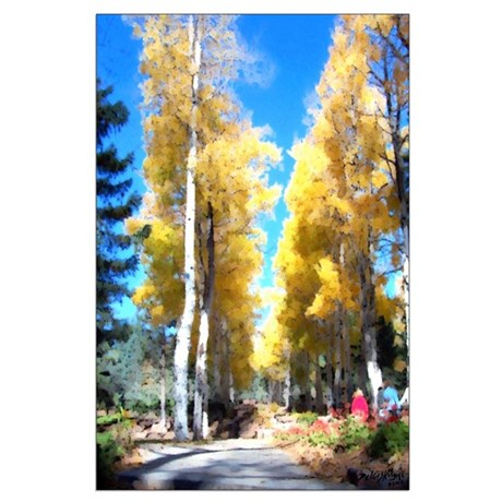 Aspen Trail Large Poster