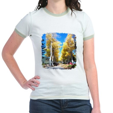 Aspen Trail Jr. Ringer T-Shirt