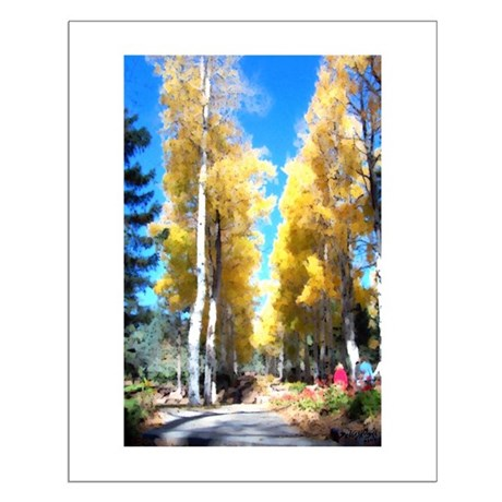 Aspen Trail Small Poster