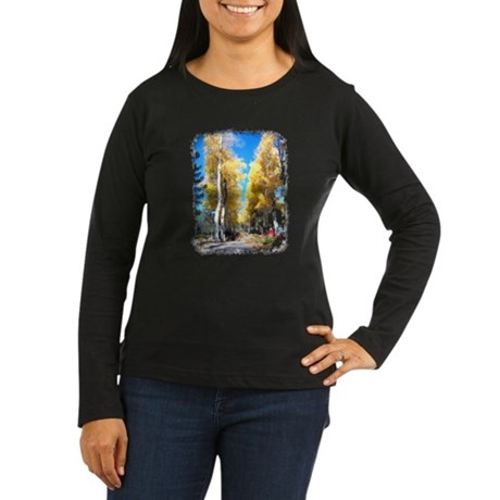 Aspen Trail Women's Long Sleeve Dark T-Shirt