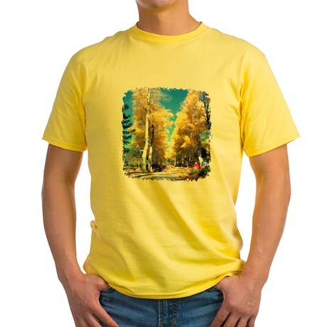 Aspen Trail Yellow T-Shirt