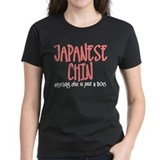 Japanese Chin JUST A DOG Tee