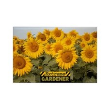 Extreme Gardener Rectangle Magnet
