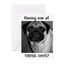 Pug / Pugs Greeting Cards (Pk of 10)