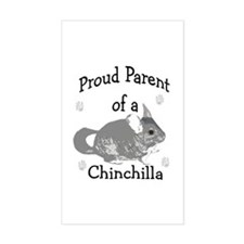 Chinchilla Parent Rectangle Decal