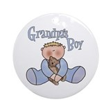 Grandpa's Boy Keepsake Ornament