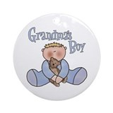 Grandma's Boy Keepsake Ornament