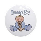 Daddy's Boy Keepsake Ornament