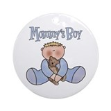 Mommy's Boy Keepsake Ornament