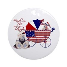 Made In The U.S.A. Keepsake Ornament