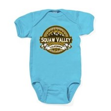 Squaw Valley Wheat Baby Bodysuit