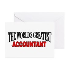"""The World's Greatest Accountant"" Greeting Cards ("