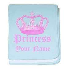 Custom Princess baby blanket