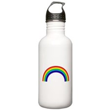Gay and Lesbian Pride Rainbow Water Bottle