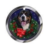 Greater Swiss Mtn Dog Ornament (Round)