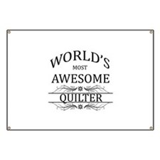 World's Most Awesome Quilter Banner