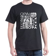 Best Opa Gift T-Shirt