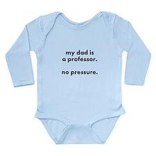 prof dad pressure long sleeve body suit/onesie