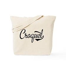 Croquet Tote Bag