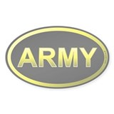 US Army Yellow Decal