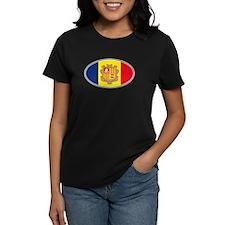 Andorran Oval Flag Tee