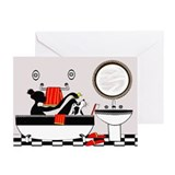 """In the Tub"" Greeting Cards (Pk of 10)"
