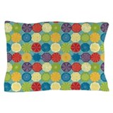 Cute Carolina Summertime Beach Theme Design Pillow