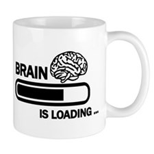 Brain loading Small Mug