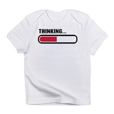 Thinking loading Infant T-Shirt