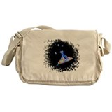 Microscopic Birth Messenger Bag