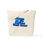Plant A Tree Wine Tote Bag