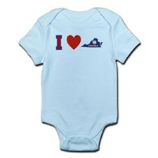 I Love Virginia Infant Bodysuit