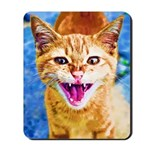 Krazy Kitten  Mousepad