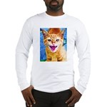 Krazy Kitten  Long Sleeve T-Shirt