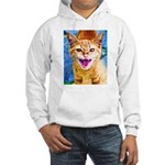 Krazy Kitten Hooded Sweatshirt