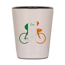 Irish Cycling Shot Glass