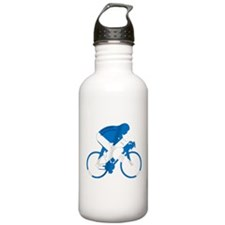 Scotland Cycling Water Bottle